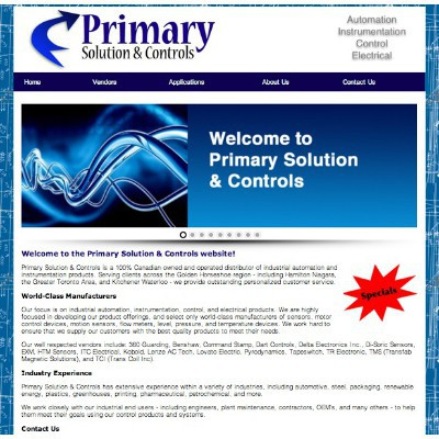 Primary Solution and Controls Inc