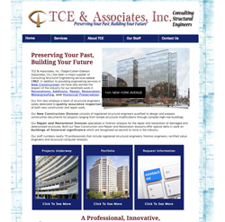 TCE & Associates, Inc. Website